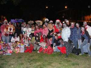 Zombie Walk Group Pic